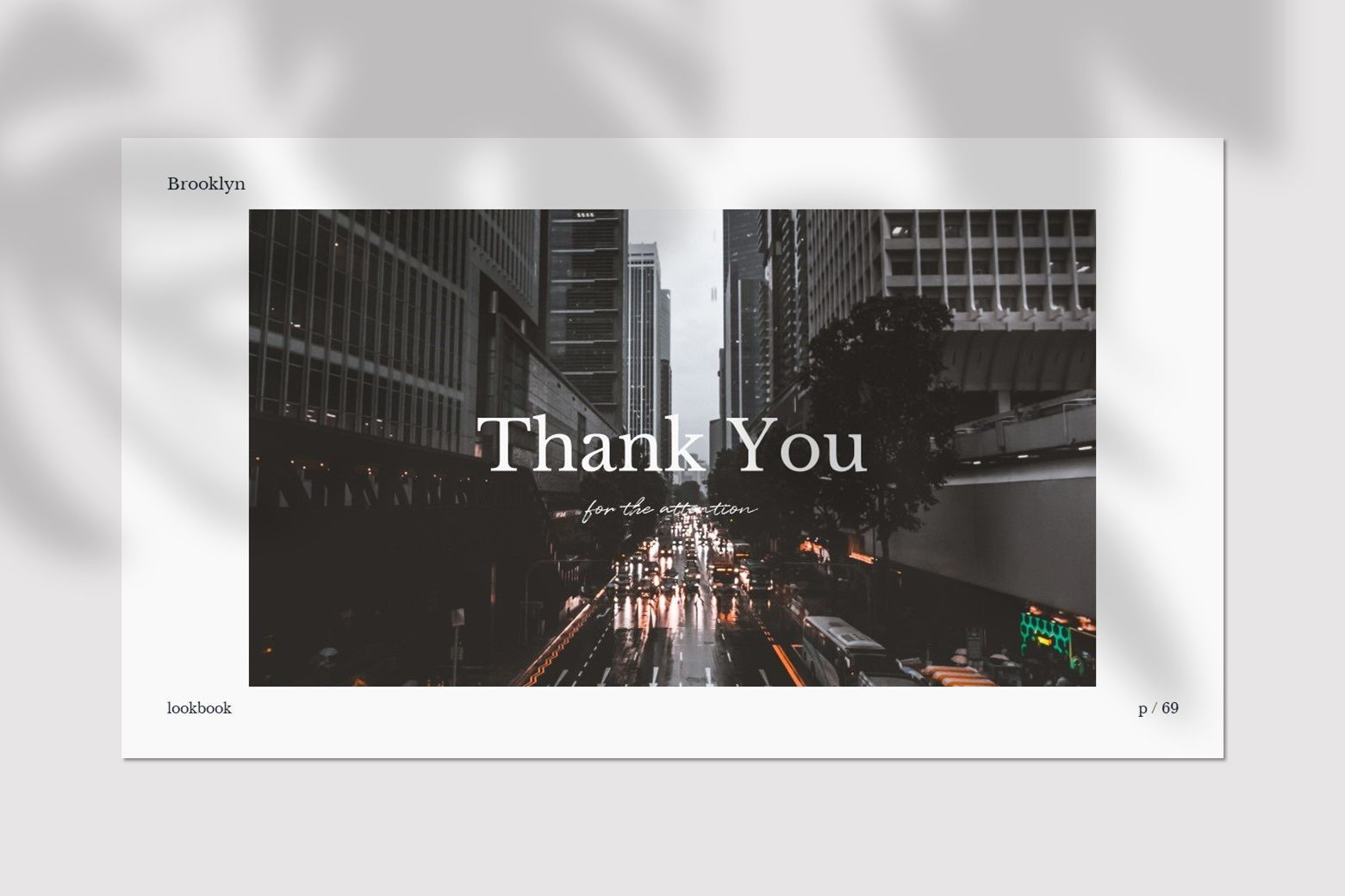 Brookly - Powerpoint Template, Slide 13, 07578, Presentation Templates — PoweredTemplate.com