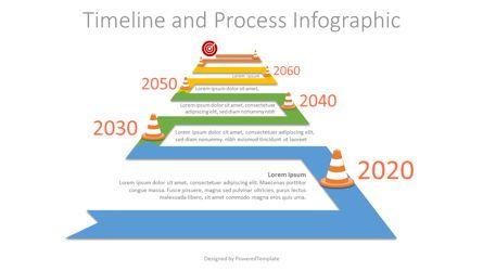 Timelines & Calendars: Winding to Horizon Roadmap Infographic #07580