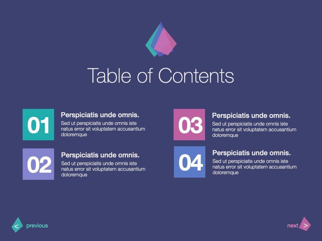 Purple Wonder Keynote Presentation Template, Slide 16, 07581, Presentation Templates — PoweredTemplate.com