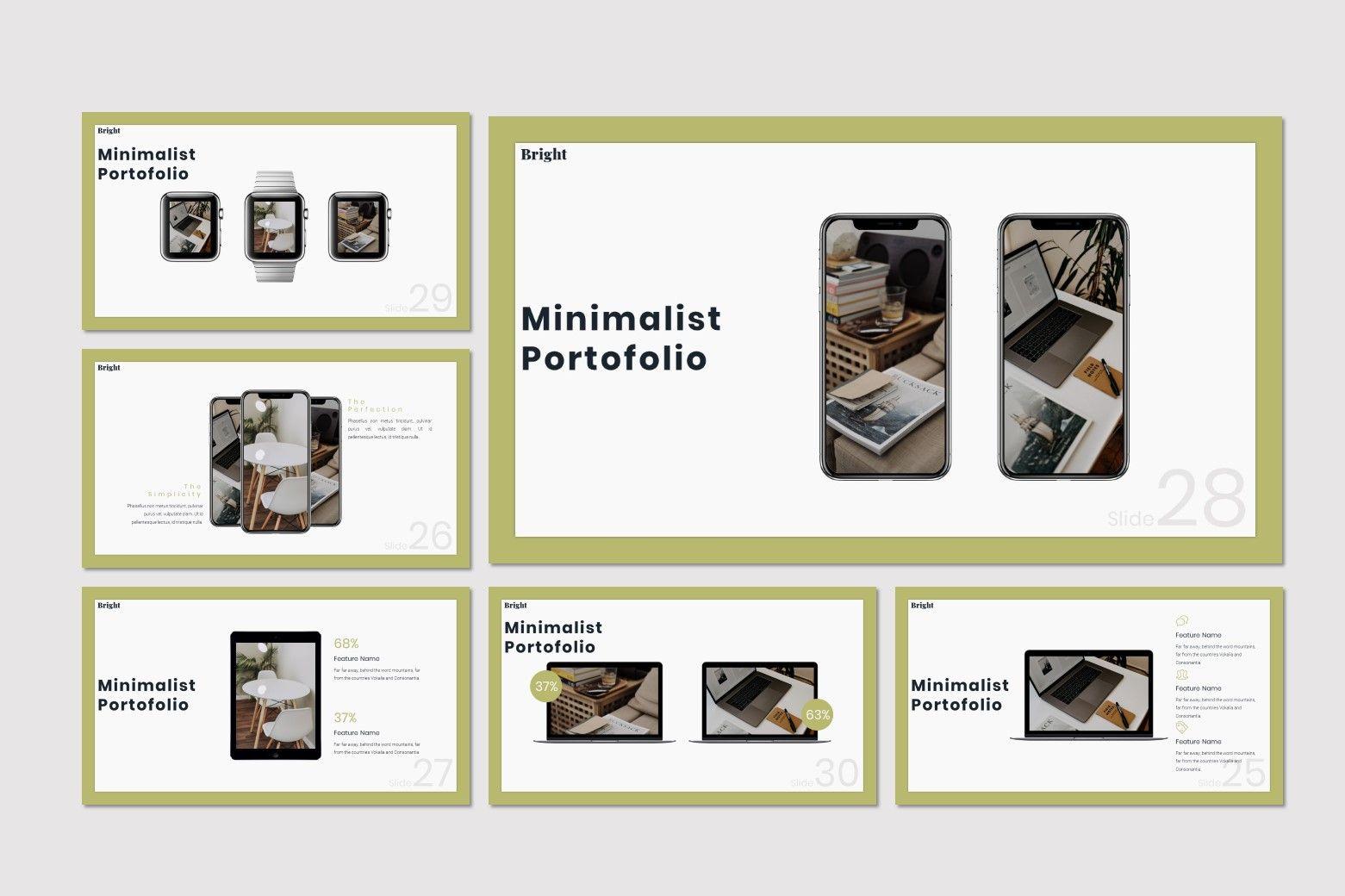Bright - Keynote Template, Slide 5, 07584, Presentation Templates — PoweredTemplate.com