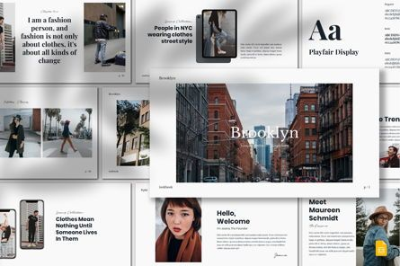 Presentation Templates: Brooklyn - Google Slides Template #07585