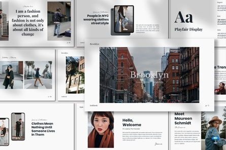 Presentation Templates: Brooklyn - Keynote Template #07589