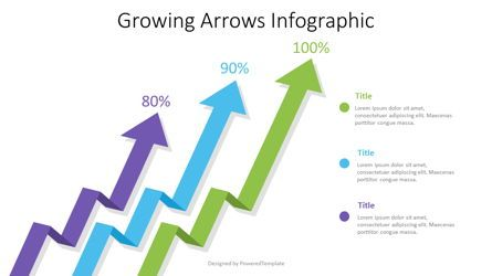 Infographics: Growing Arrows Infographic #07590