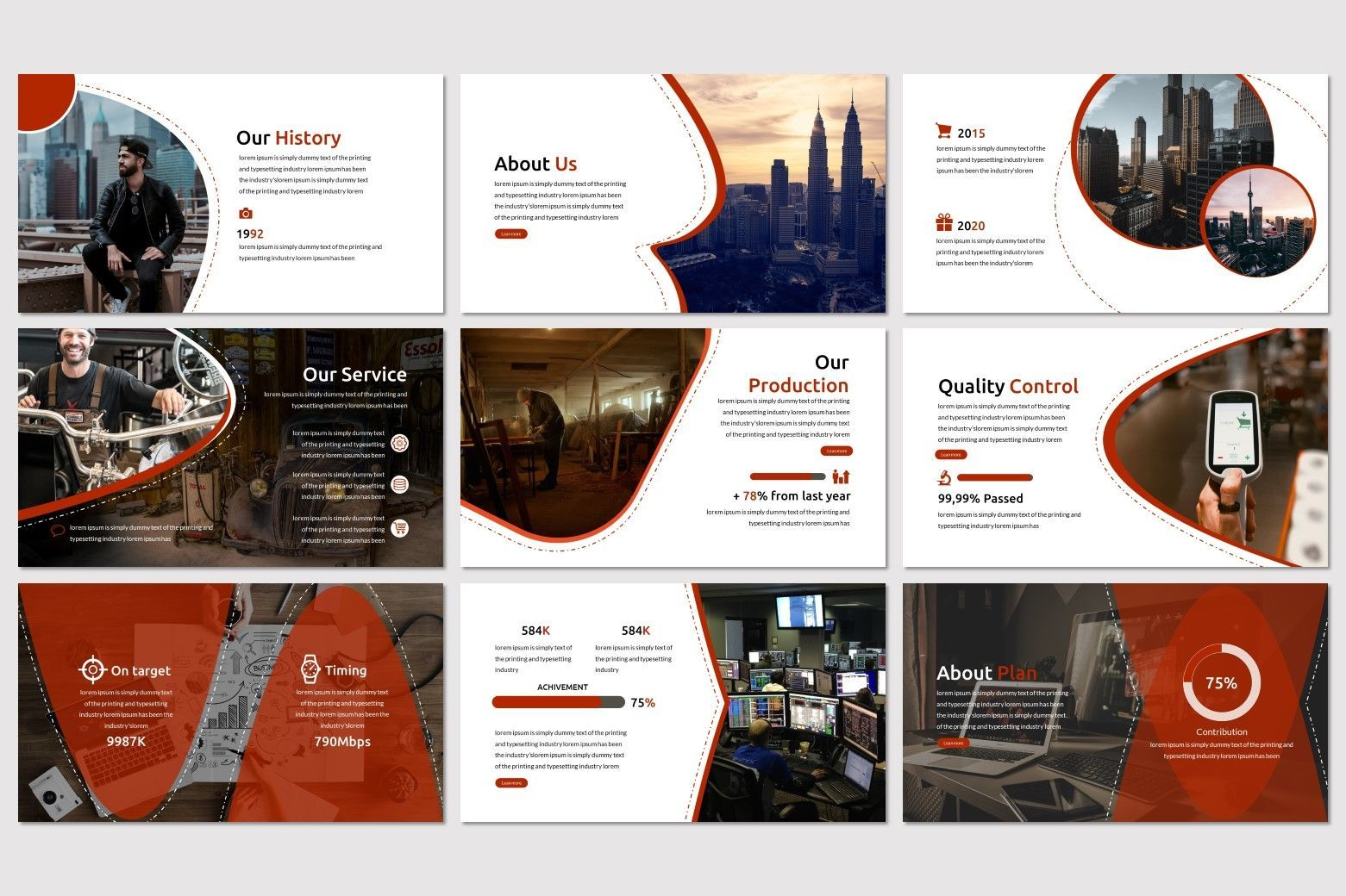 Alfath - PowerPoint Template, Slide 3, 07592, Presentation Templates — PoweredTemplate.com