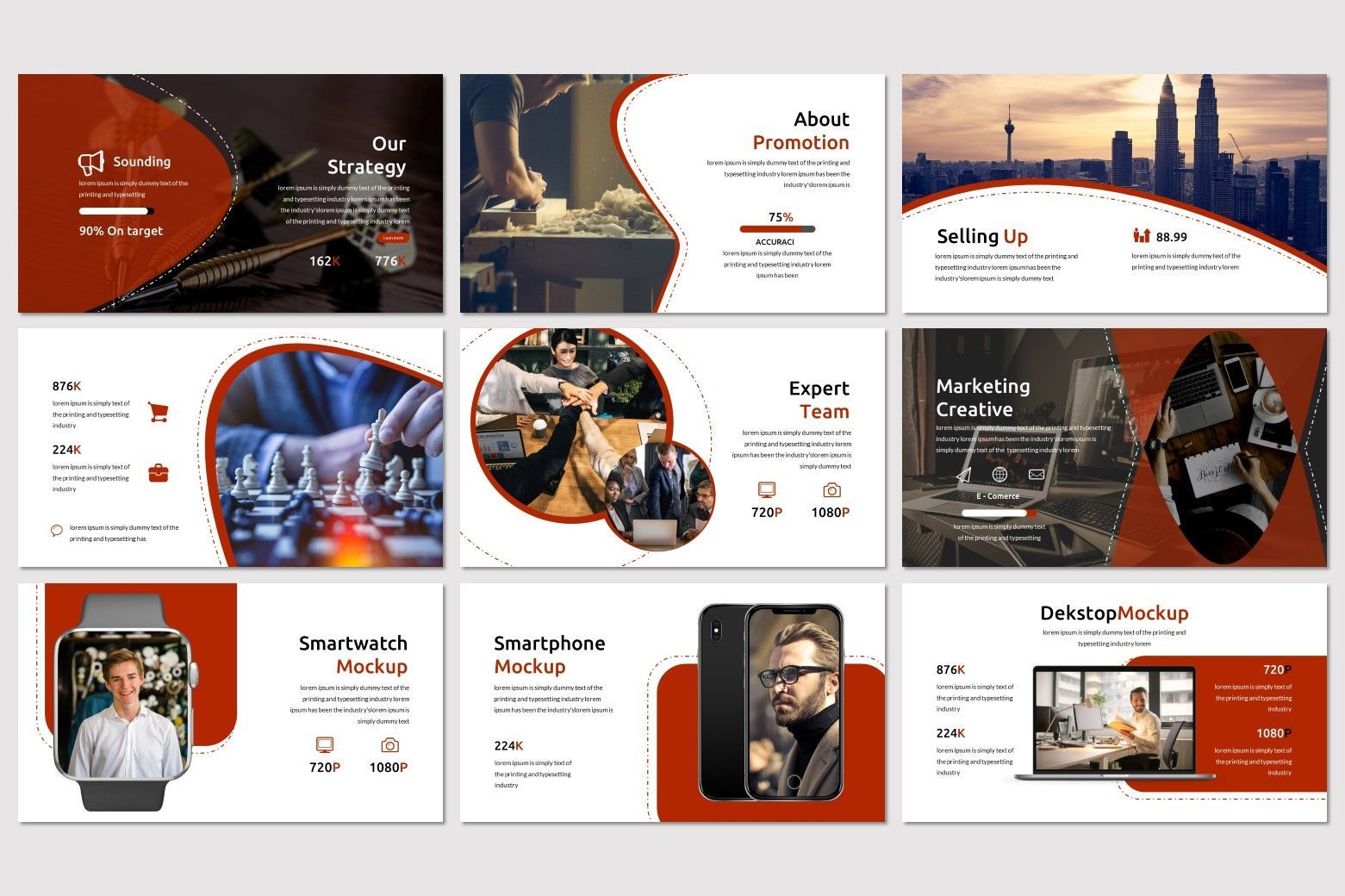 Alfath - PowerPoint Template, Slide 4, 07592, Presentation Templates — PoweredTemplate.com