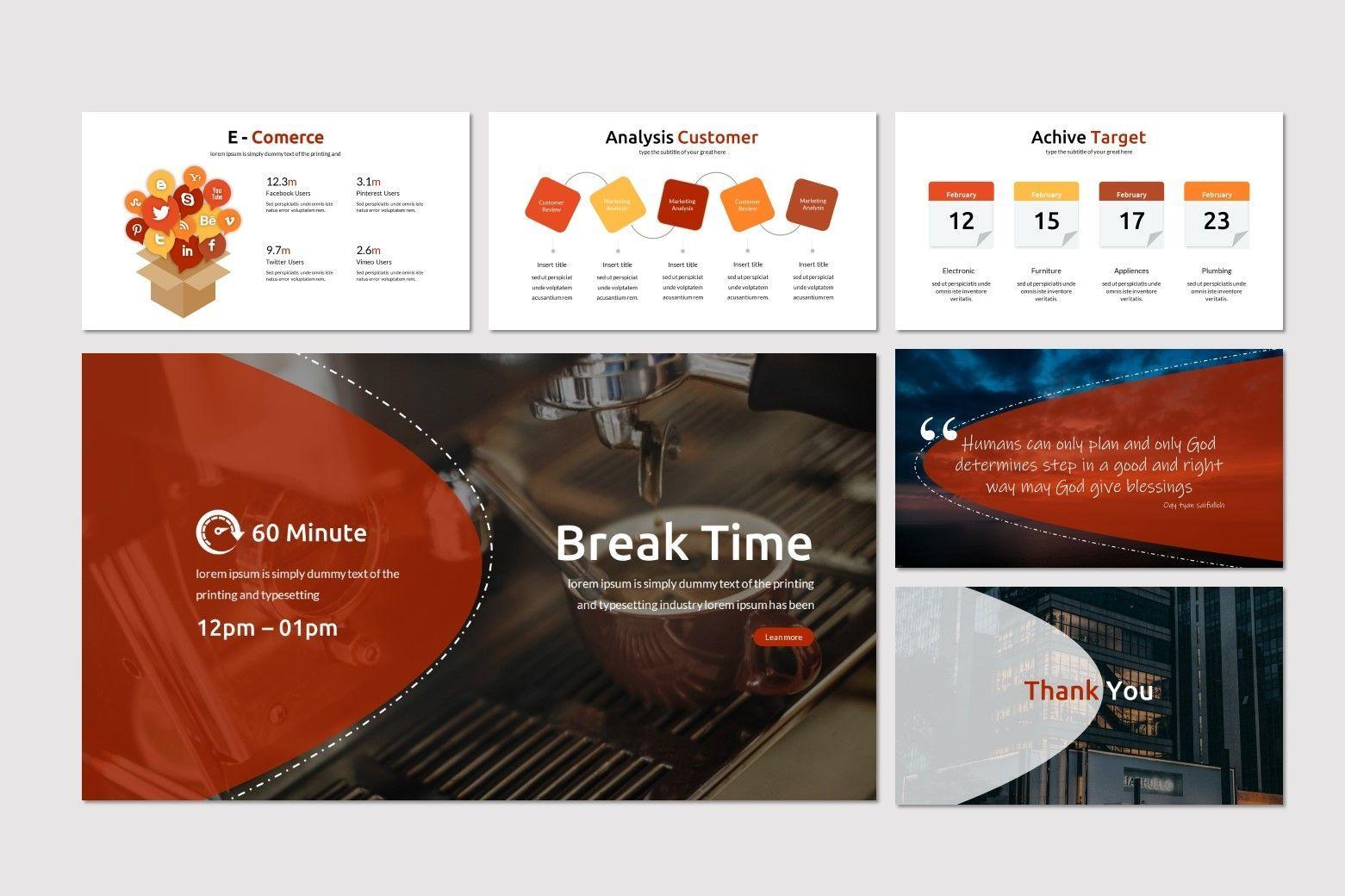 Alfath - PowerPoint Template, Slide 5, 07592, Presentation Templates — PoweredTemplate.com