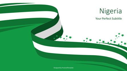 Presentation Templates: National Flag of Nigeria #07594