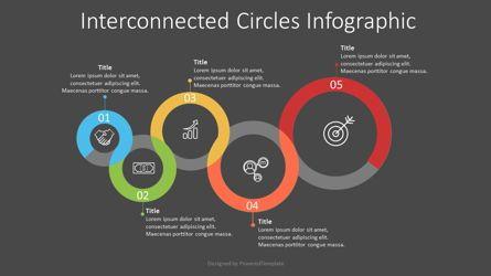 Infographics: Interlocking Circles Infographic #07595