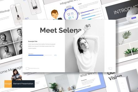 Presentation Templates: Element - PowerPoint Template #07596