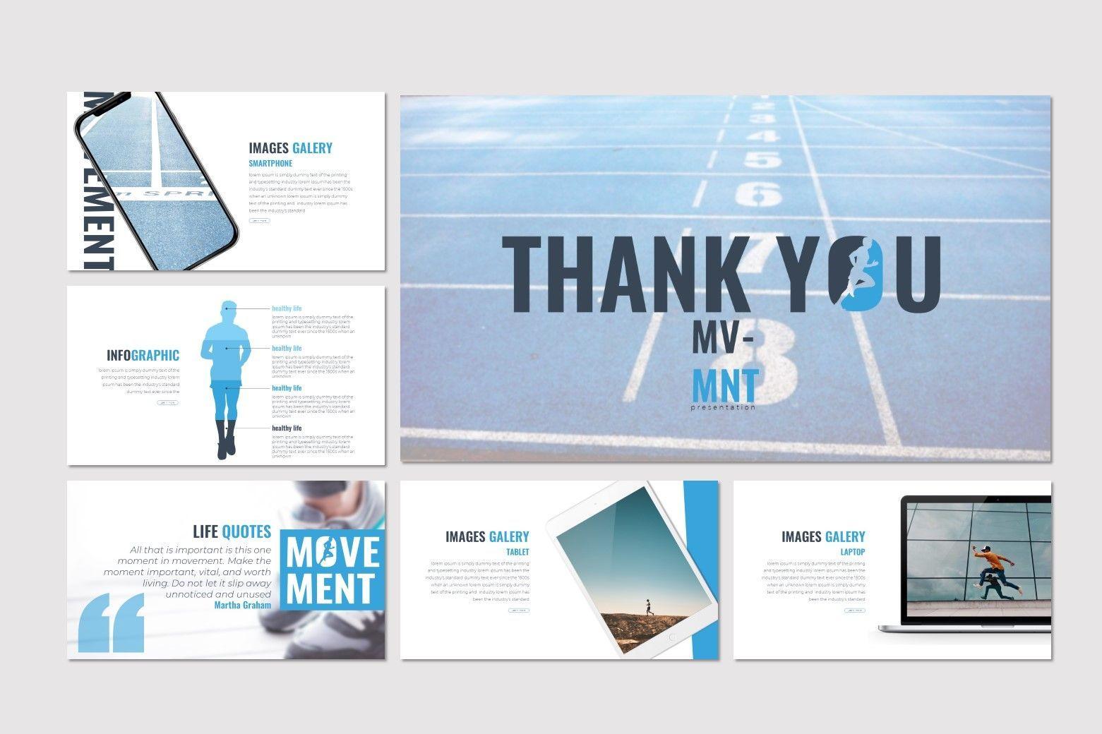 Movement - Keynote Template, Slide 5, 07598, Presentation Templates — PoweredTemplate.com