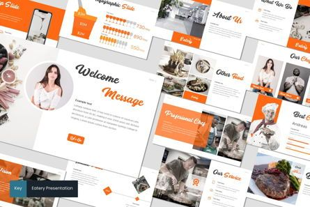 Presentation Templates: Eatery - Keynote Template #07600