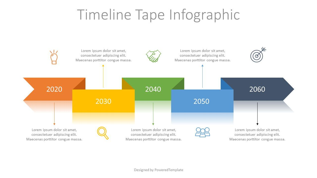 Timeline Tape Diagram Free Presentation Template For Google Slides And Powerpoint 07601