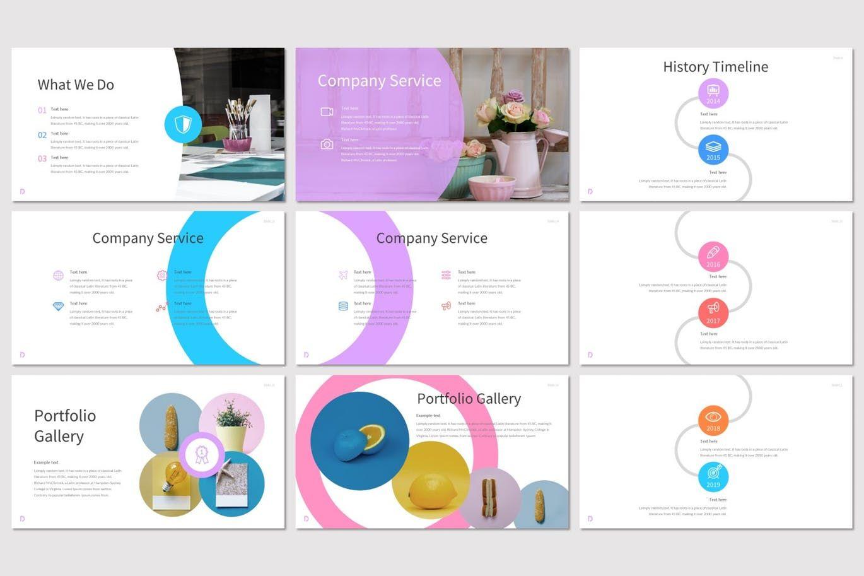 Delight - PowerPoint Template, Slide 3, 07604, Presentation Templates — PoweredTemplate.com