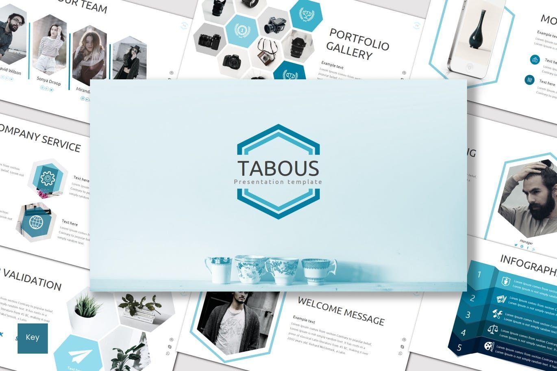 Tabous - Keynote Template, 07623, Presentation Templates — PoweredTemplate.com