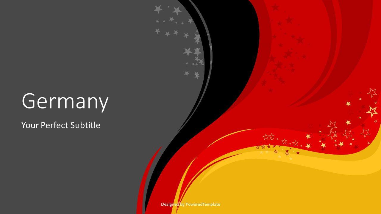 Happy Germany Unity Day Cover Slide, Slide 2, 07630, Presentation Templates — PoweredTemplate.com