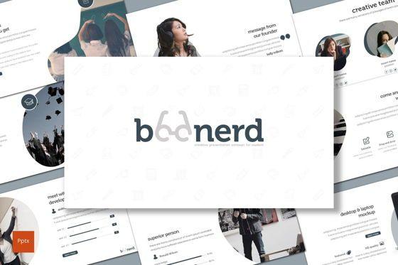 Presentation Templates: Boonerd - PowerPoint Template #07632
