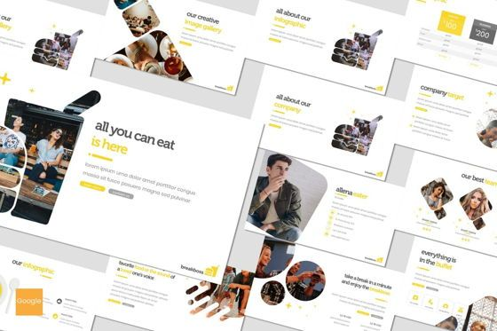 Presentation Templates: Breakboss - Google Slides Template #07633