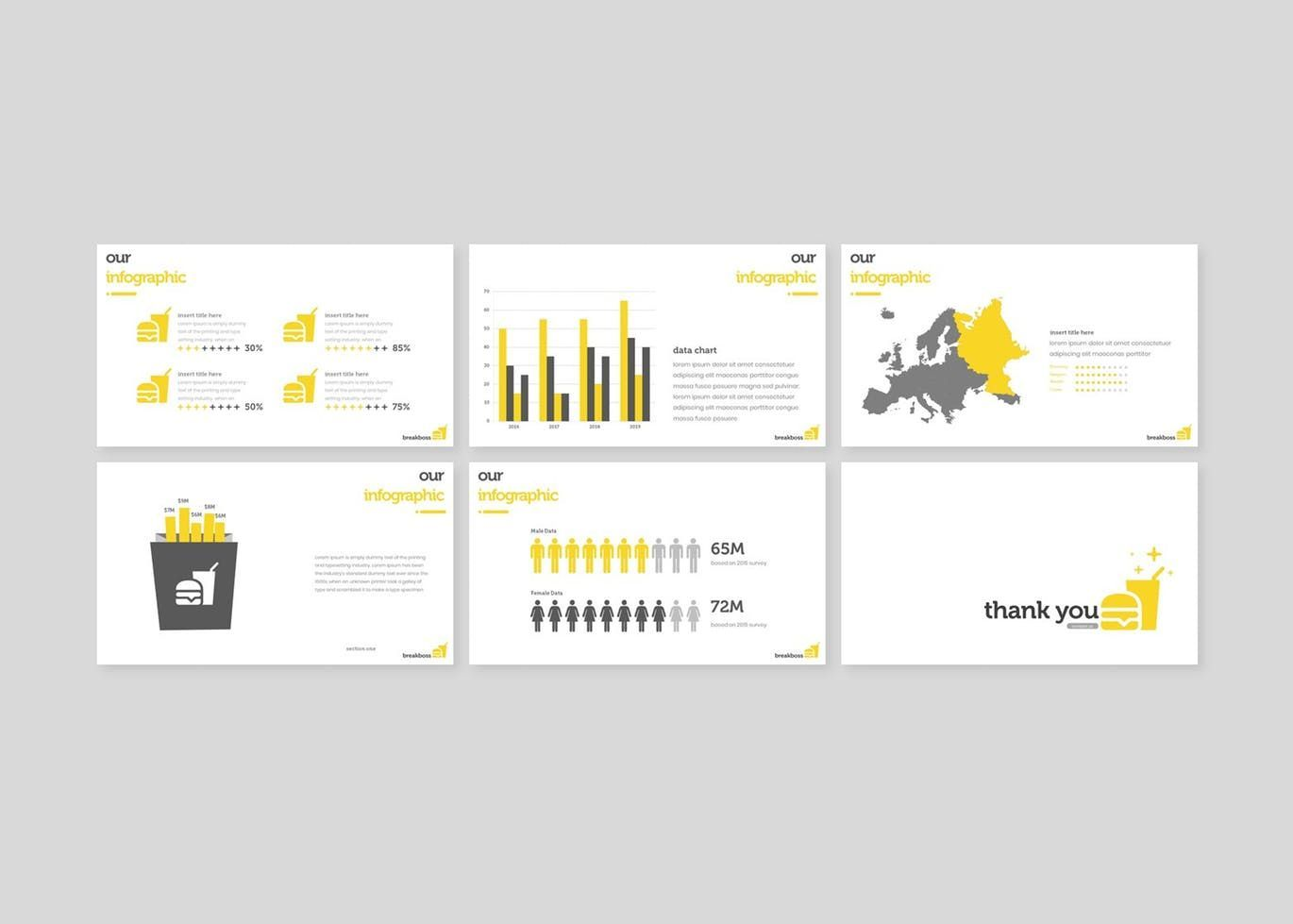 Breakboss - Google Slides Template, Slide 5, 07633, Presentation Templates — PoweredTemplate.com