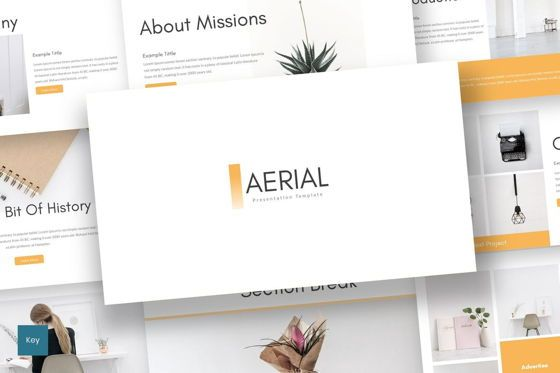 Presentation Templates: Aerial - Keynote Template #07636