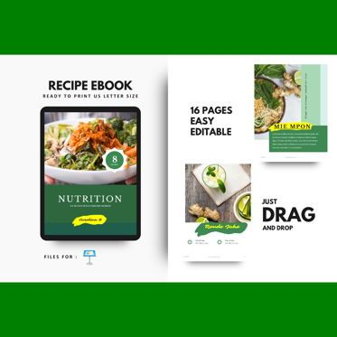 Presentation Templates: Nutrition for your life keynote presentation template #07641