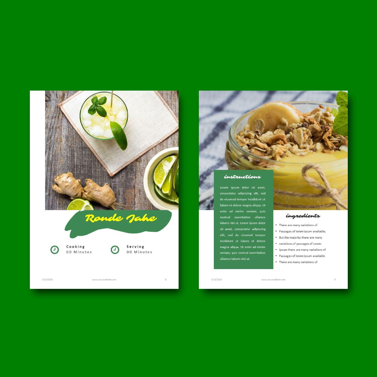 Nutrition for your life keynote presentation template, Slide 5, 07641, Presentation Templates — PoweredTemplate.com