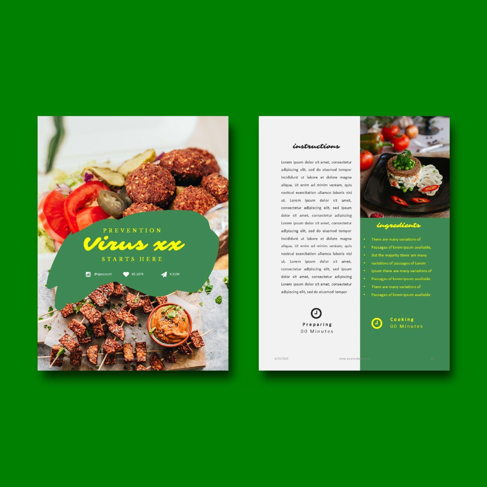 Nutrition for your life keynote presentation template, Slide 7, 07641, Presentation Templates — PoweredTemplate.com