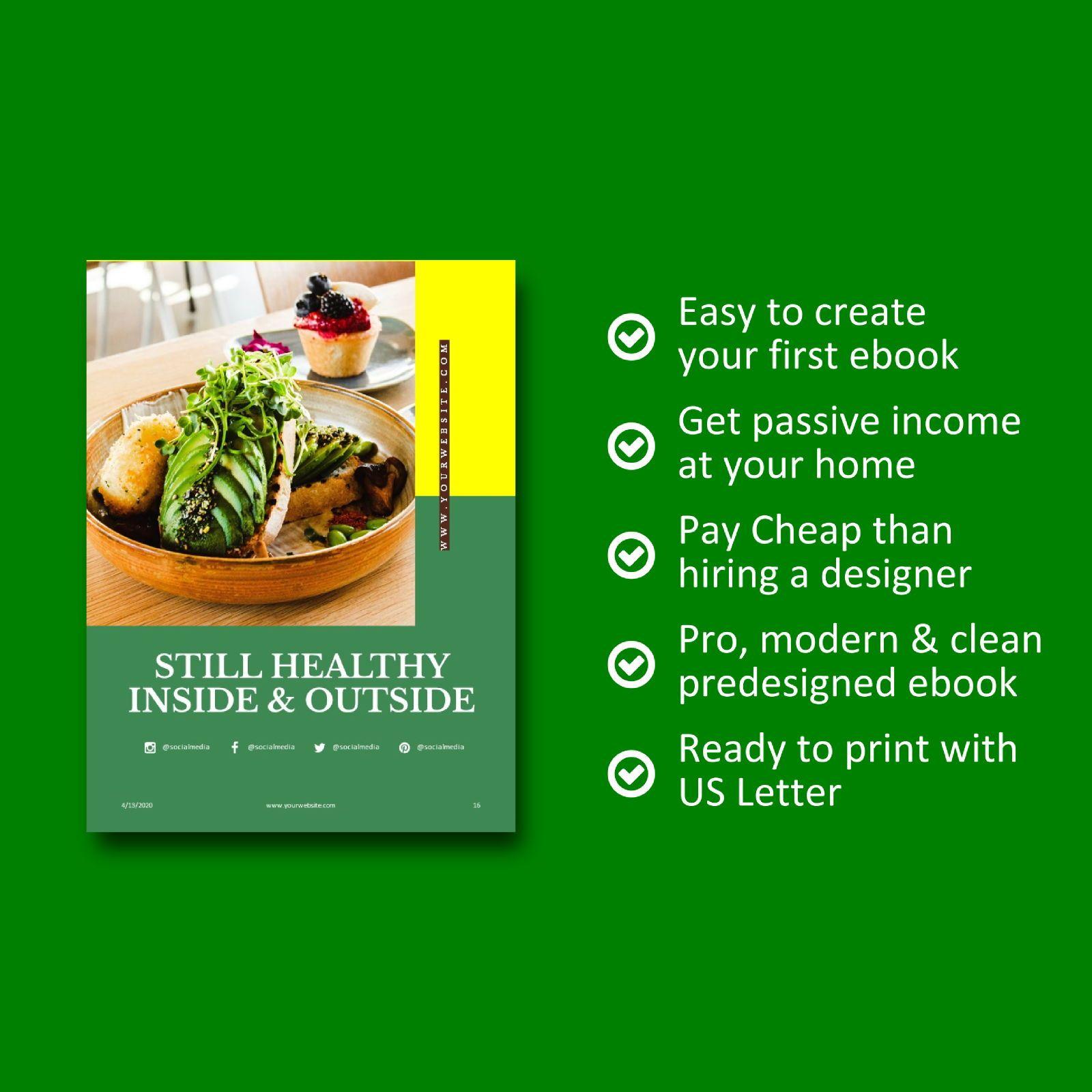 Nutrition for your life keynote presentation template, Slide 8, 07641, Presentation Templates — PoweredTemplate.com