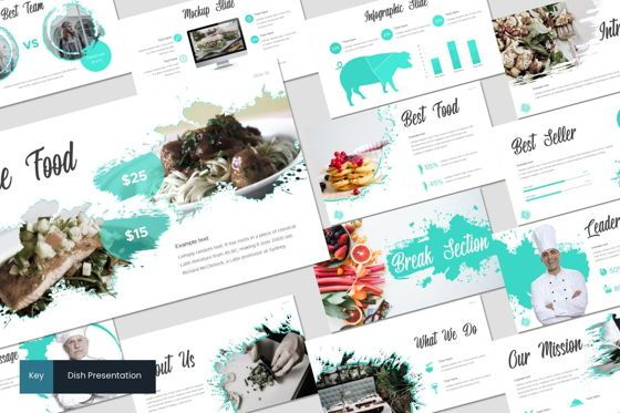 Presentation Templates: Dish - Keynote Template #07642