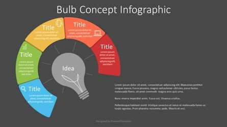 Infographics: Bulb Concept Infographic #07643