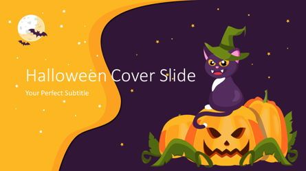 Presentation Templates: Halloween Cover Slide #07646