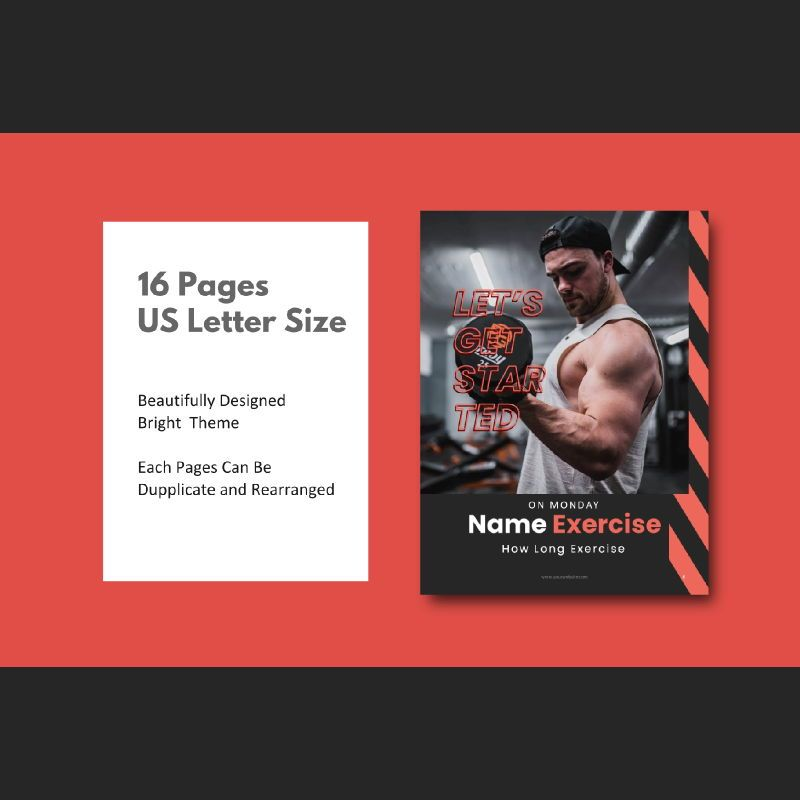 Fitness trainer body builder keynote presentation template, Slide 4, 07648, Presentation Templates — PoweredTemplate.com