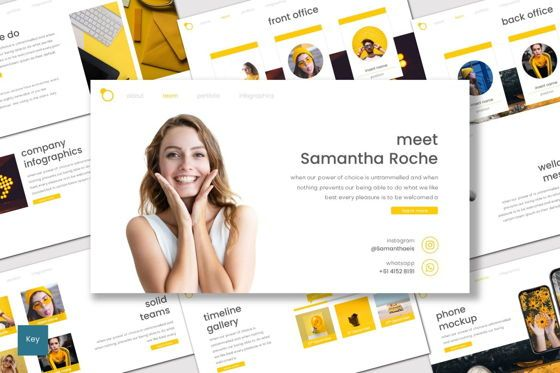 Presentation Templates: Intersection - Keynote Template #07654