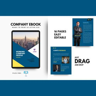 Business Models: New company profile 2020 keynote presentation template #07655