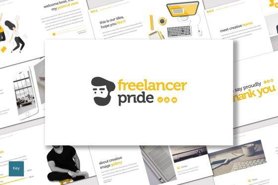 Presentation Templates: Freelancer Pride - Keynote Template #07657