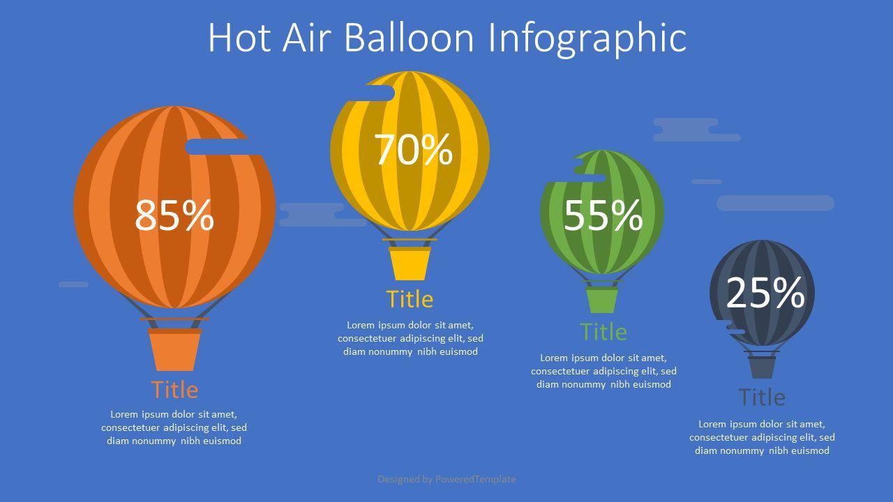 Hot Air Balloon Infographic, 07662, Infographics — PoweredTemplate.com