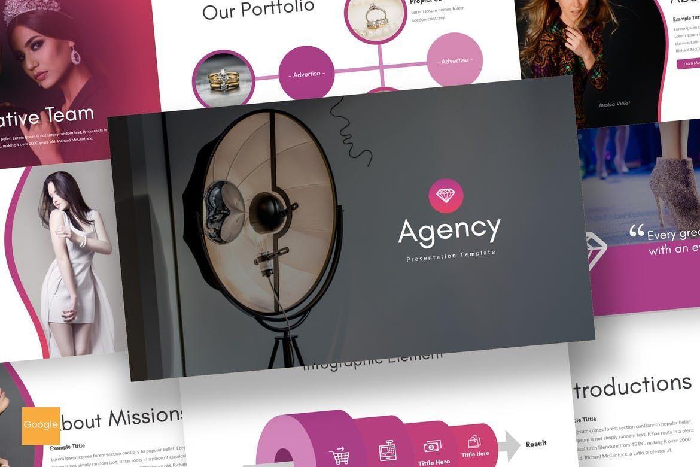 Agency - Google Slides Template, 07663, Presentation Templates — PoweredTemplate.com