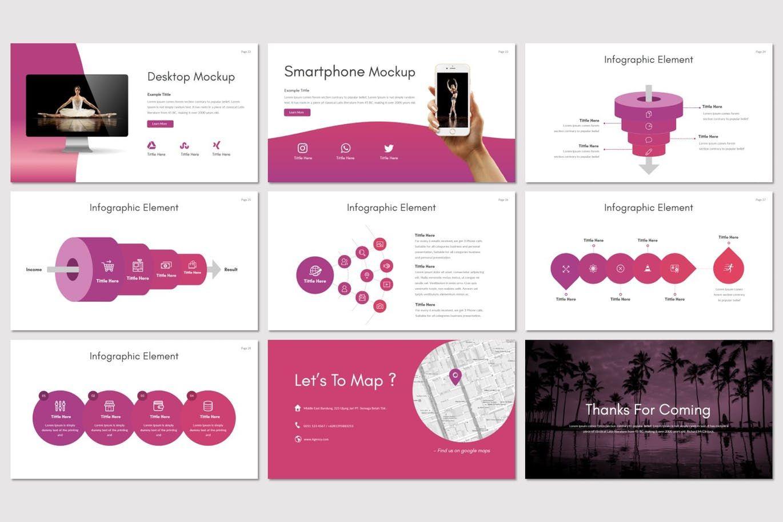 Agency - Google Slides Template, Slide 5, 07663, Presentation Templates — PoweredTemplate.com