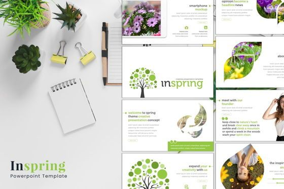 Presentation Templates: Inspring - PowerPoint Template #07664