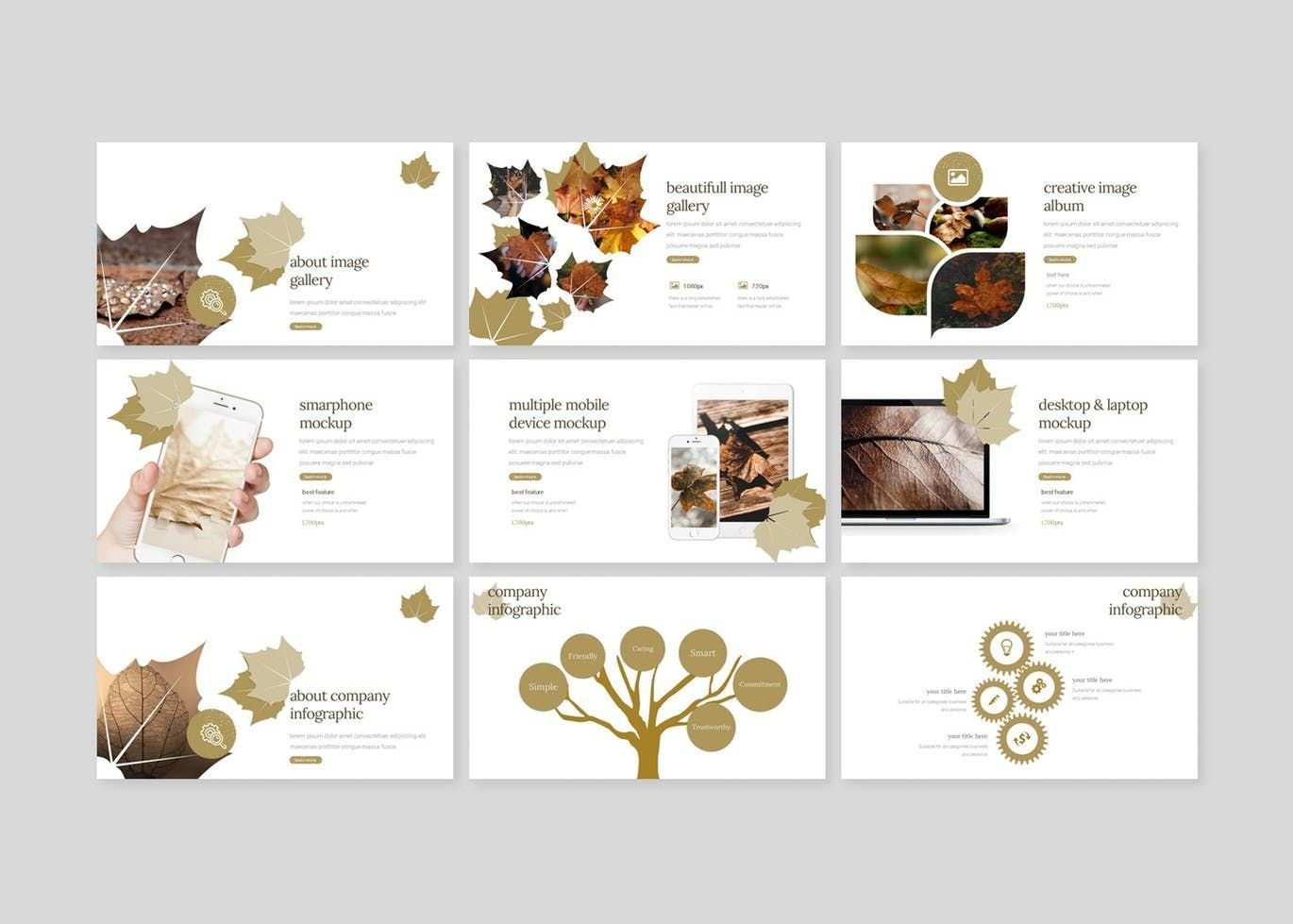 Autumn Leaves - Google Slides Template, Slide 4, 07665, Presentation Templates — PoweredTemplate.com