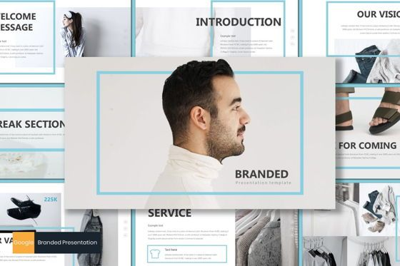 Presentation Templates: Branded - Google Slides Template #07667