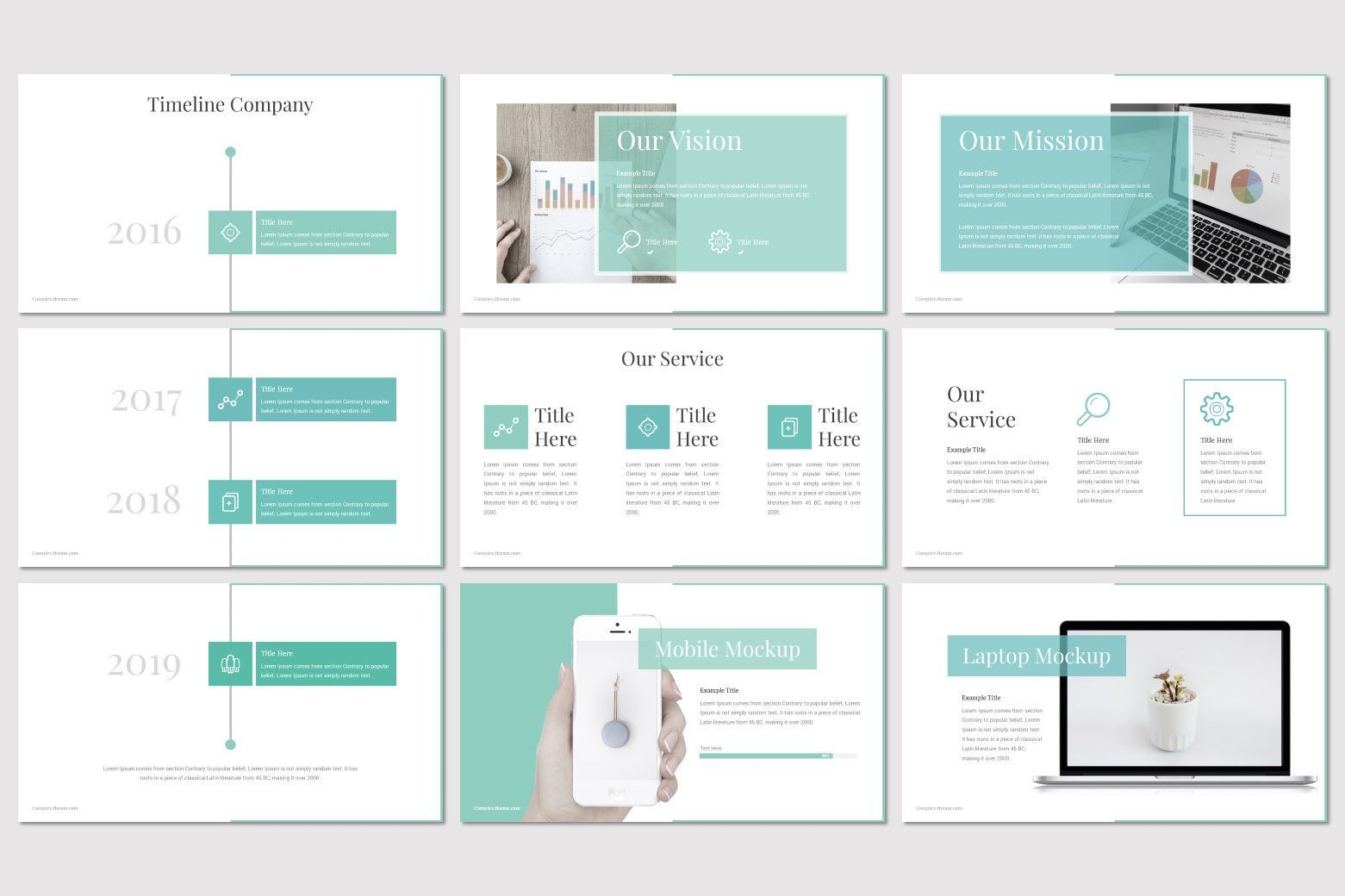 Complex - PowerPoint Template, Slide 3, 07668, Presentation Templates — PoweredTemplate.com