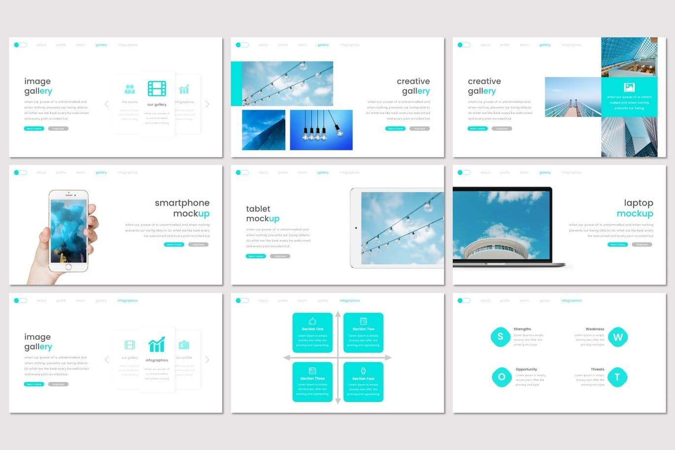 Legibility - Keynote Template, Slide 4, 07669, Presentation Templates — PoweredTemplate.com