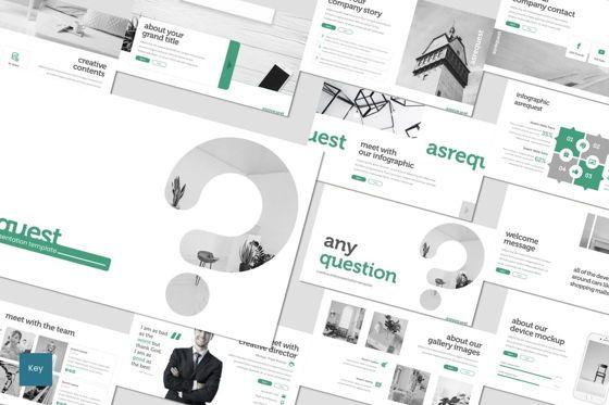 Presentation Templates: Asrequest - Keynote Template #07678