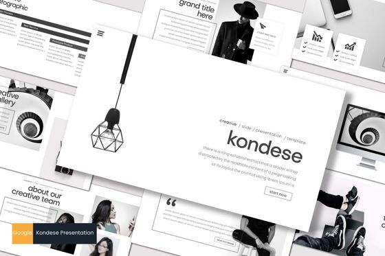 Presentation Templates: Kondese - Google Slides Template #07681
