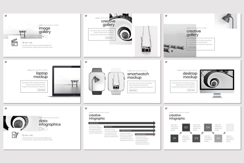 Kondese - Google Slides Template, Slide 4, 07681, Presentation Templates — PoweredTemplate.com