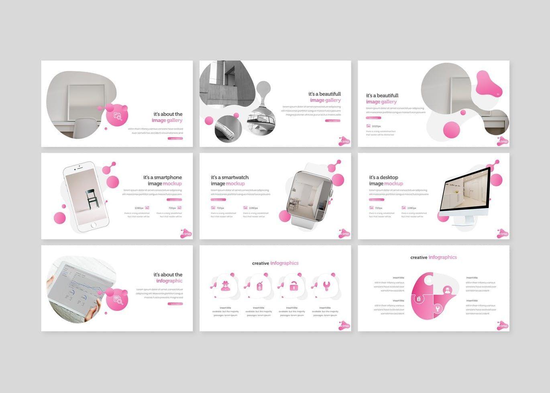 Docimo - PowerPoint Template, Slide 4, 07682, Presentation Templates — PoweredTemplate.com