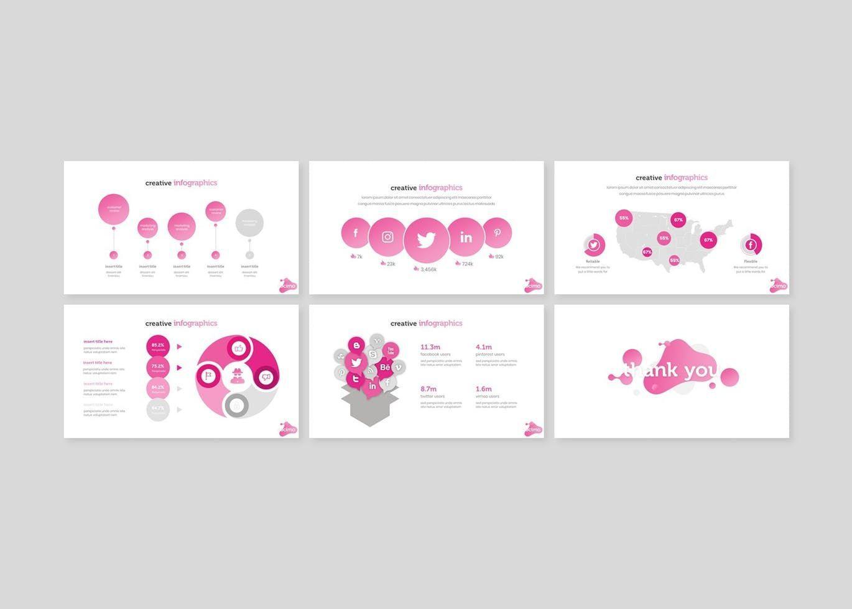 Docimo - PowerPoint Template, Slide 5, 07682, Presentation Templates — PoweredTemplate.com