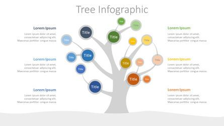 Infographics: Tree Mind Map Infographic #07687