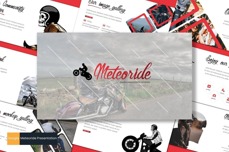 Meteoride - Google Slides Template, 07688, Presentation Templates — PoweredTemplate.com