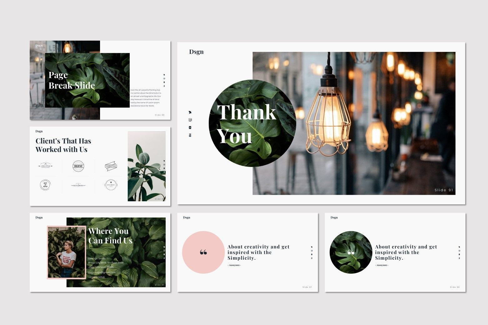 Dsgn - Keynote Template, Slide 15, 07693, Presentation Templates — PoweredTemplate.com